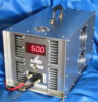 3kW DC electronic load - industrial battery discharger - portable.